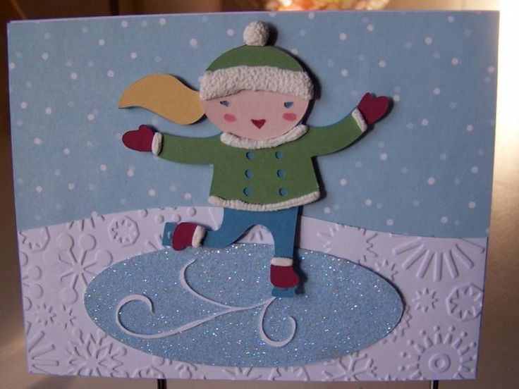 Card Making Ideas Cricut Part - 47: Winter Frolic Cricut Cartridge | Cricut Winter Frolic Card By AmyStamper -  Cards And Paper Crafts
