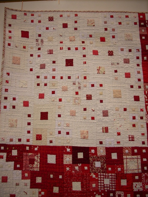 """Composition II"" by Shoko Sakai, Japan - Gold Prize Winner Traditional Quilts Category 10th Quilt Nihon - exhibited at 16th European Patchwork Meeting 2010 Val d'Argent Alsace"