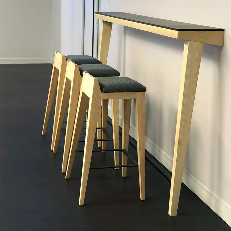 mjiila om16 0 tabouret de bar design en bois assise en tissu ou cuir cuisine pinterest. Black Bedroom Furniture Sets. Home Design Ideas