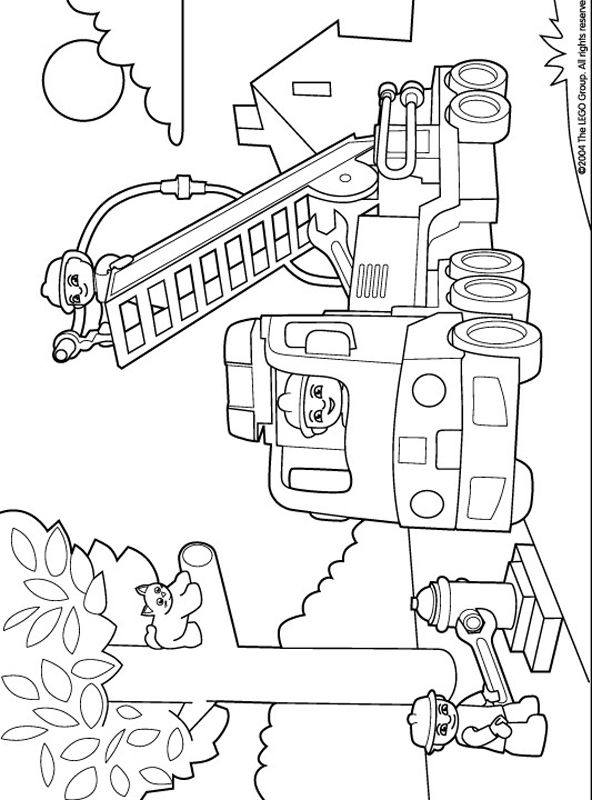 Lego Duplo Coloring Pages 10
