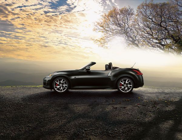 The 2014 Nissan 370Z is the best open-top roadster for cruising and enjoying the weather/scenery as the season changes to fall.