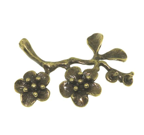 2 pcs Antique Brass Bronze Plated On Brass by FancyGemsandFindings, $3.50