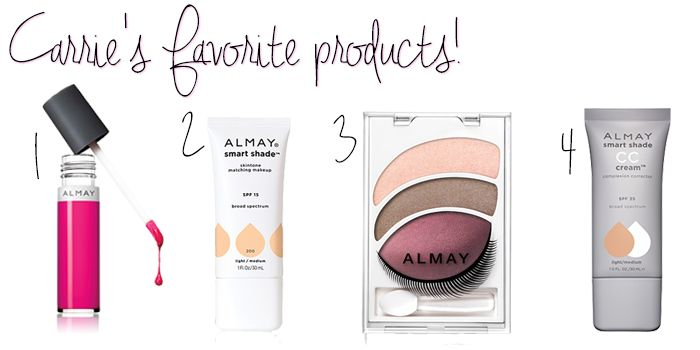 Carrie Underwood shares her favorite Almay products as their newest ambassador! #beauty #makeup #naturalbeauty