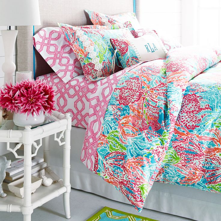 Lilly Pulitzer for Garnet Hill Bedding Back in Stock