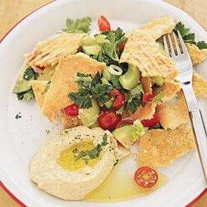 Lebanese Bread Salad | MyRecipes.com