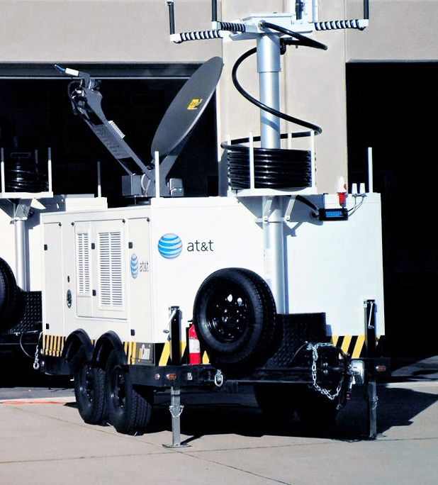 vehicle mounted satellite dish