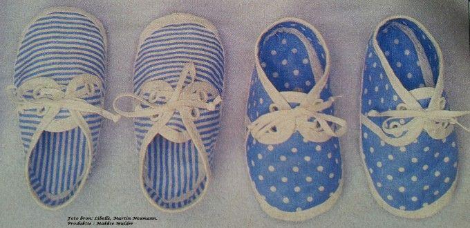 Patroon schoentje voor baby van 1 jaar - Hobby.blogo.nl
