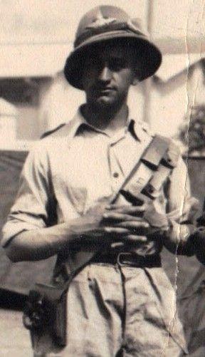 Fiano Pasquale Serg. Magg. - WWII Africa settentrionale - Esercito Italiano - 36^ Autoreparto pesante - 1941-1943 -  Encomio del Gen.Giglioli durante la Battaglia della Marmarica