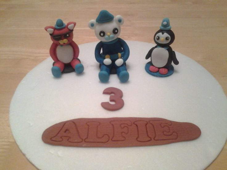 Edible octonauts bithday cake topper by daisystoppers on Etsy https://www.etsy.com/listing/203694018/edible-octonauts-bithday-cake-topper