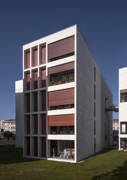 les 25 meilleures id es concernant logement social sur pinterest l 39 architecture du logement. Black Bedroom Furniture Sets. Home Design Ideas