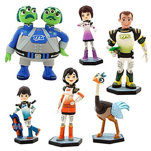 New Disney Miles From Tomorrowland Figure Playset 6 intergalactic adventure Gift #Disney