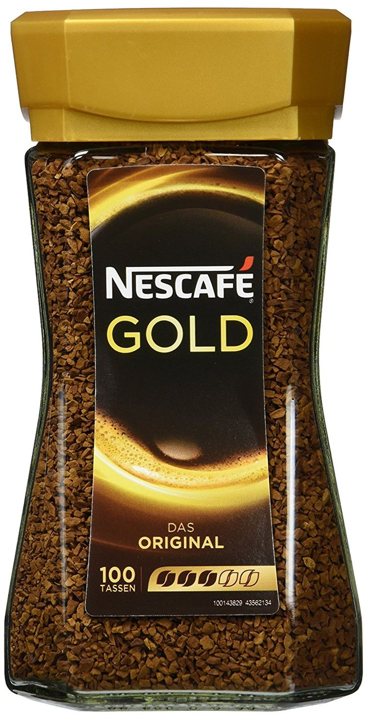 Nescafé Gold Original, Löslicher Kaffee, 200g Glas: Amazon.de: Grocery