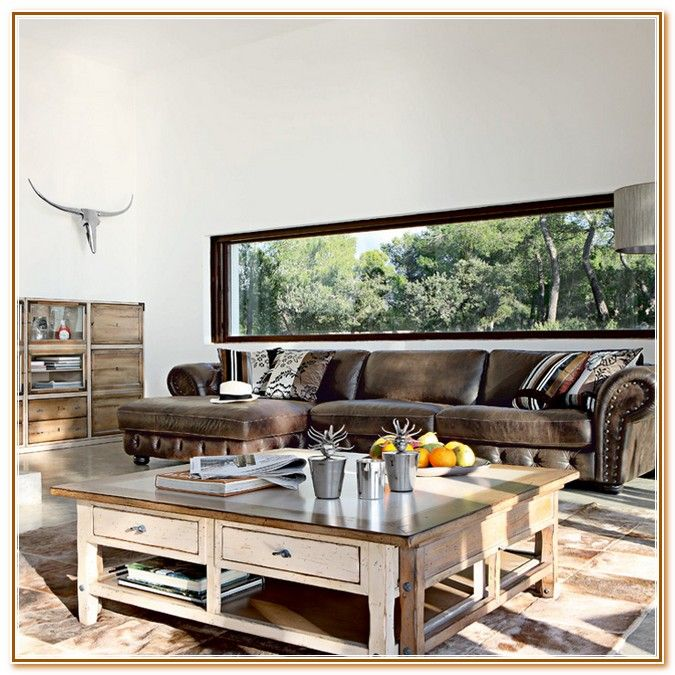 Living Room Ideas With Brown Leather Sofas