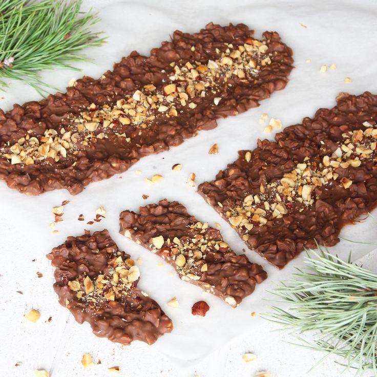Gudomligt gott och lättgjort godis med en fantastisk smak av schweizernötschoklad!