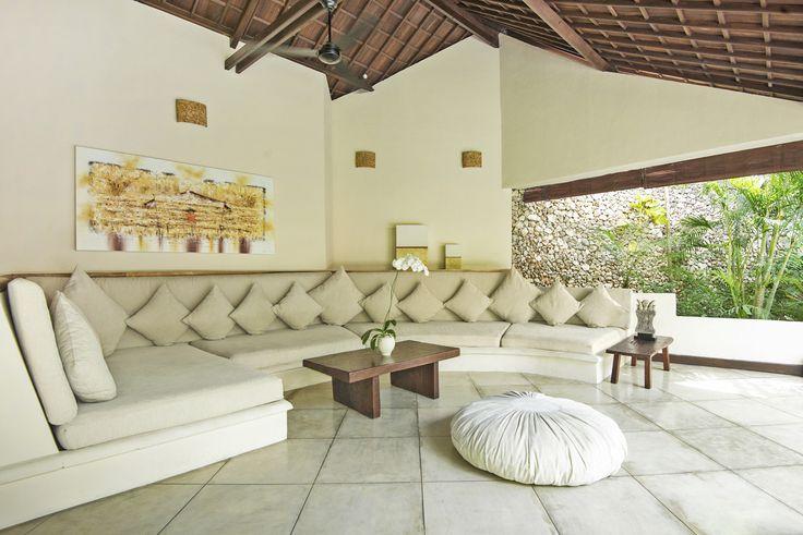 Villa 4 living area at Villa Kubu, Seminyak, Bali