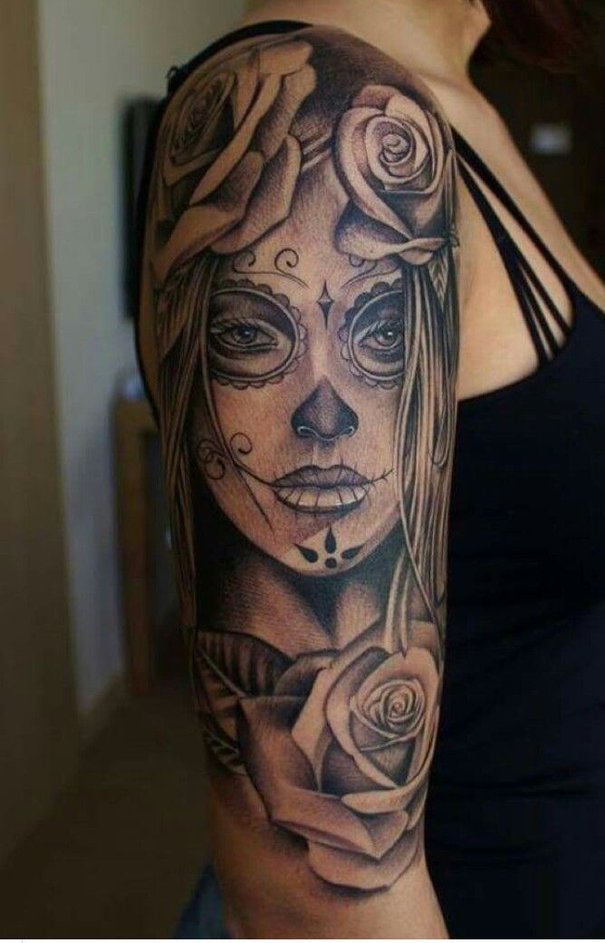 catrina tattoo pinterest tatuajes ideas de tatuajes. Black Bedroom Furniture Sets. Home Design Ideas
