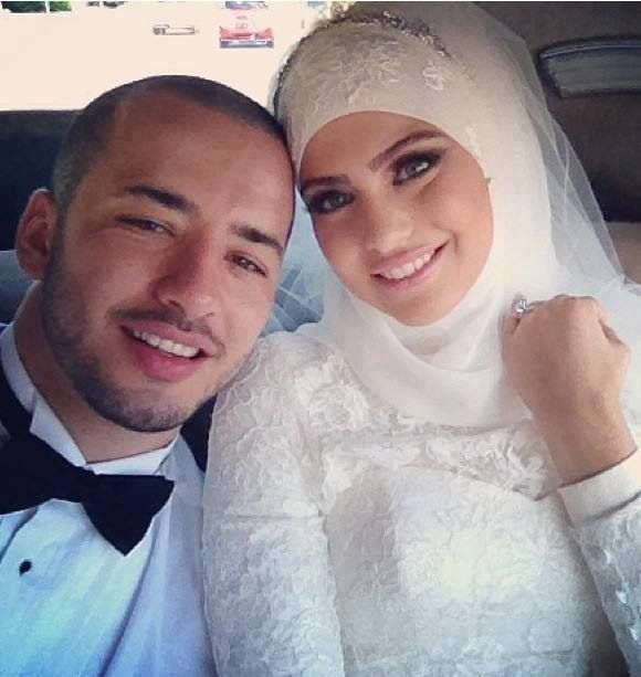 Muslim Lebanese couple