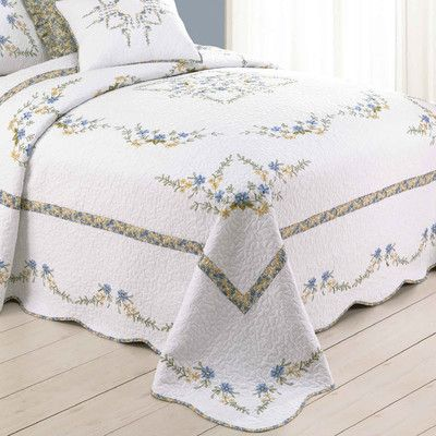 Peking Handicraft Heather Bedspread | Wayfair