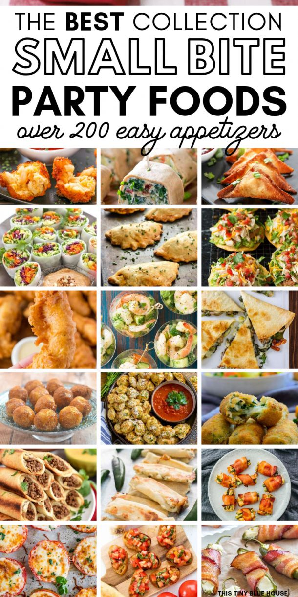 Are you looking for some easy bite sized appetizers for an upcoming event? Here …