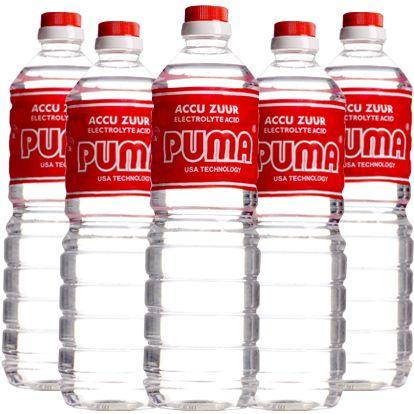 Accu Zuur PUMA kemasan 1 Liter