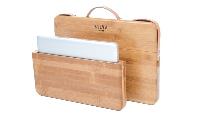 Bamboo MacBook Pro Case / The Grass Wood Co laptopcase
