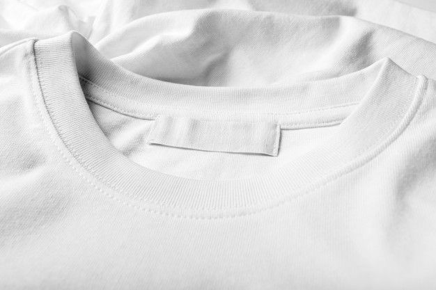 Download T Shirt Label Mock Up T Shirt Label Shirt Label Shirts