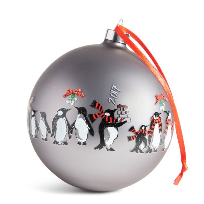 Playful Penguins Ornament