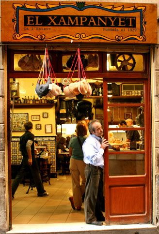 Either stuff your face with as much cava and tapas and meet the owners of Xampanyet...or lie to me and tell me that you did.  (Best place in all of Barca, to me.)