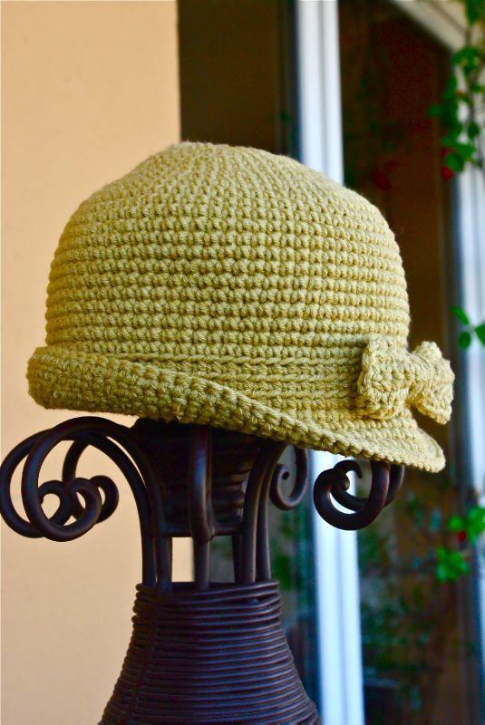 chapeau au crochet à faire!