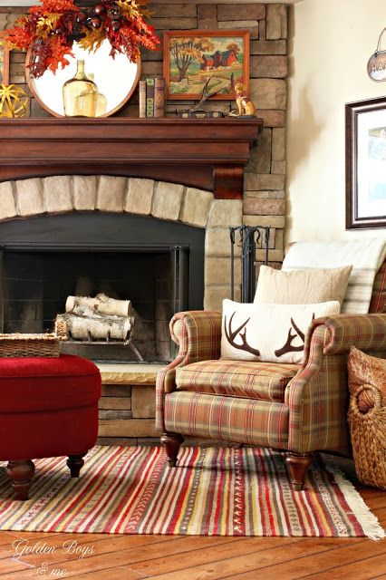 Fall Home Tour 2015 Fireplaces Birch Lane And Paint