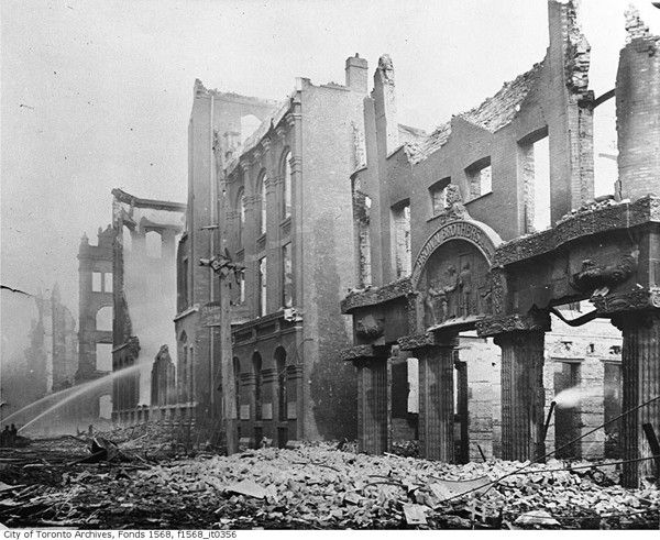 Remembering the Great Toronto Fire of 1904