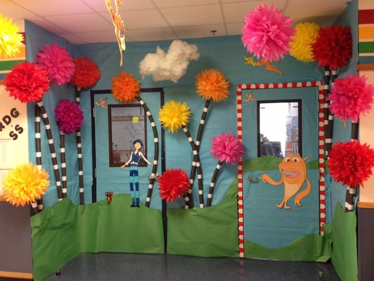 Dr Seuss Clroom Decorations Bing Images
