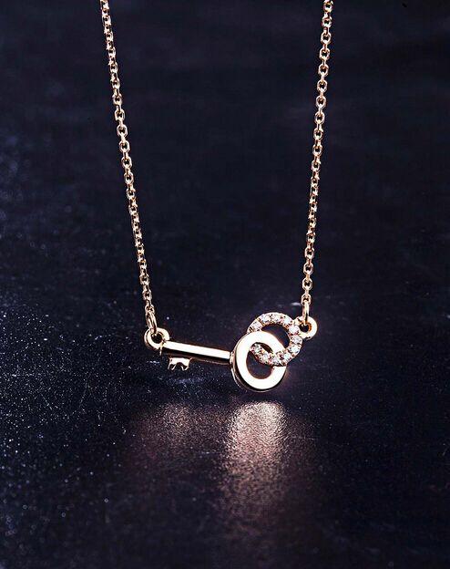Key pendant necklace, cool