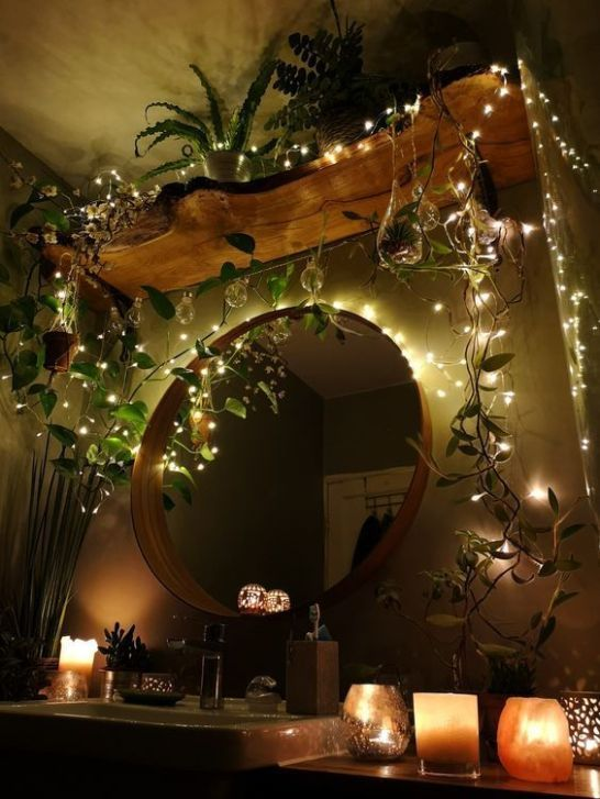 Top 10 Ways To Decorate With Fairy Lights | Aesthetic room ...
