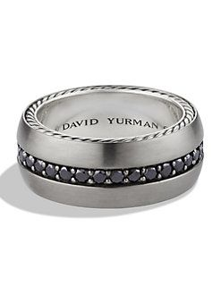 David Yurman Mens Gold Diamond Ring   Google Search