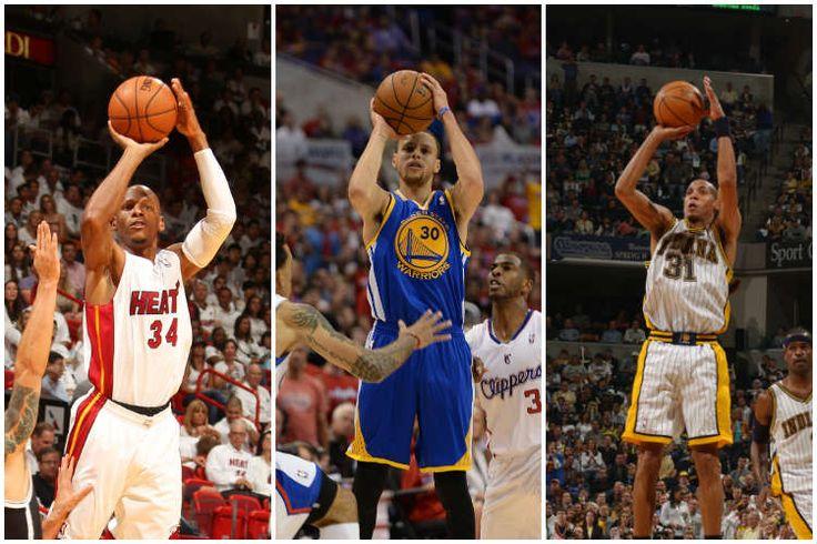El arte de lanzar: los mejores momentos de Stephen Curry, Reggie Miller y Ray Allen (Vídeo) - @KIAenZona