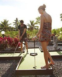 Play a round of mini-golf at Cocoputt for a fun day out!