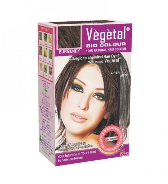Buy Vegetal Bio Hair Colour (Burgundy) Online ay myGREENkart.com