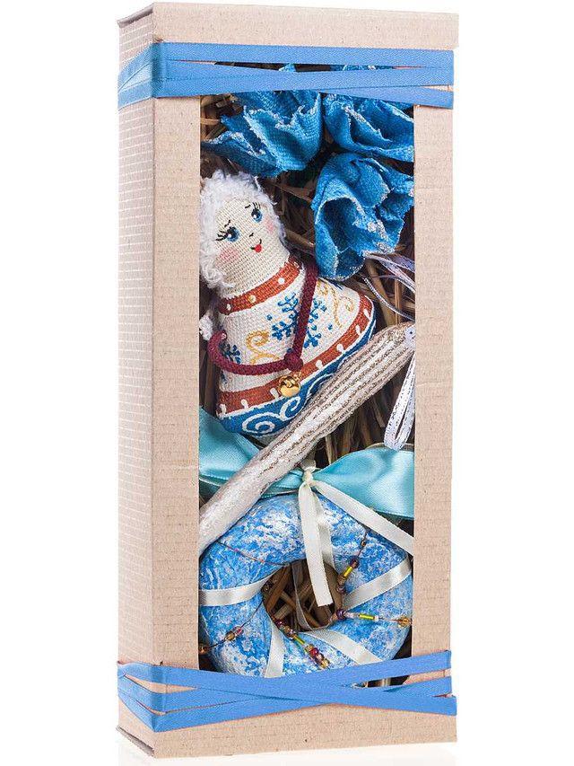 Голубой новогодний подарочный набор Ванильный ангел.