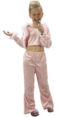 Pop Star Kostümü, Lüks 4-6 Y