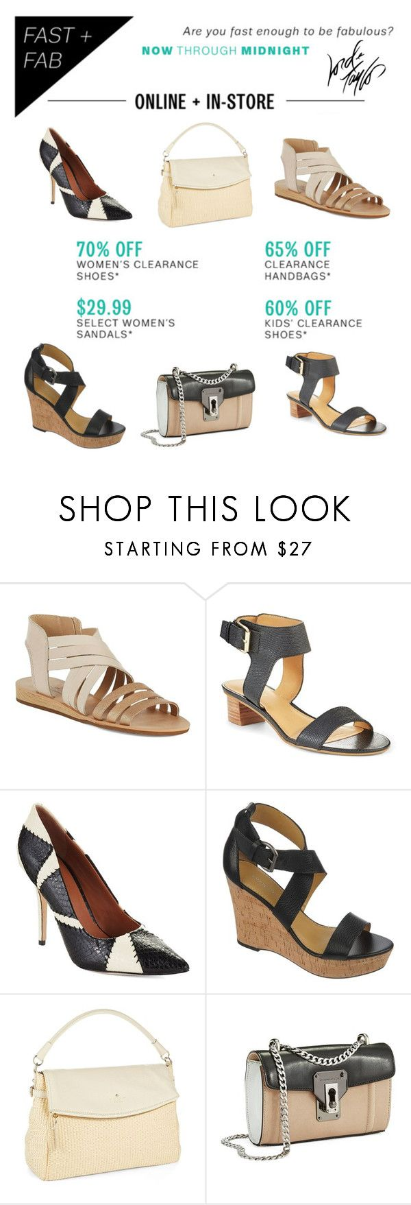 """7/18 Only: Shoes & Handbags SALE"" by lordandtaylor ❤ liked on Polyvore featuring мода, Lord & Taylor, Lucky Brand, Nine West, Rachel Roy, Franco Sarto, Kate Spade и Kenneth Cole"