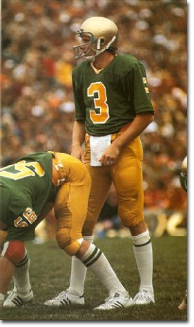 "University of Notre Dame Fighting Irish, 1977 ""Green Machine""***Research for possible future project."