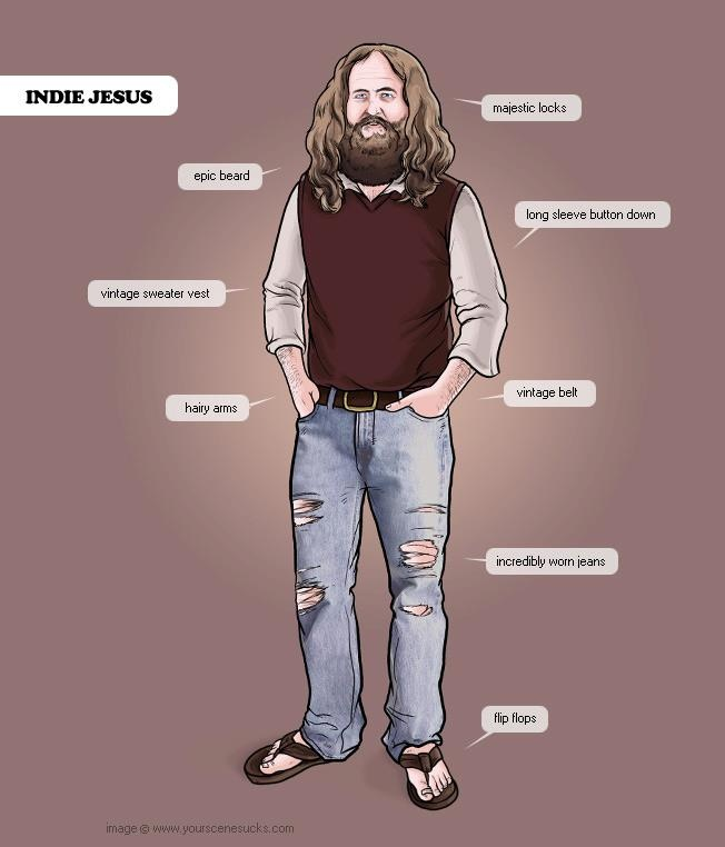 Indie Jesus. He's like Good Guy Greg, put you probably haven't met him yet.