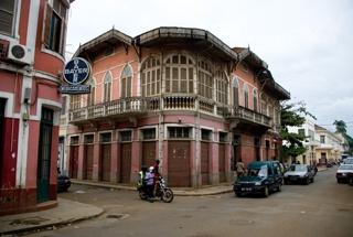 Sao Tome city view