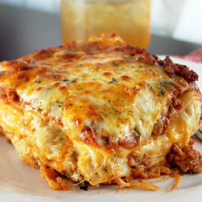 "This Cajun Lasagne recipe adds Andouille sausage creole seasoning to a classic lasagne recipe to ""kick it up a notch"" with bold Cajun flavors."