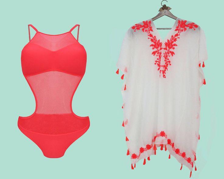 Let's go to Miami. Maillot Tressy et son paréo poncho francesca . http://bodylove.ma/portrait-133-0-beachwear-0.html