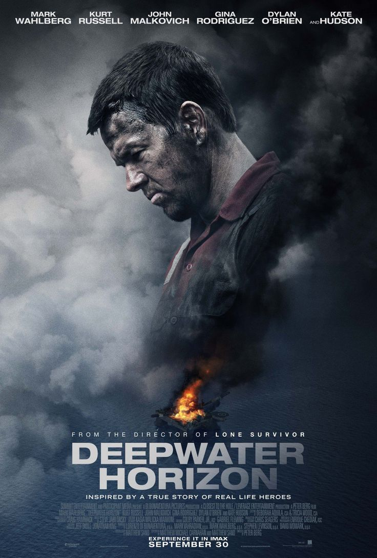 "The biographical disaster film ""Deepwater Horizon"" directed by Peter Berg and starring Mark Wahlberg, Kurt Russell, Gina Rodriguez, John Malkovich, Ethan Suplee, and Dylan O'Brien is now playing in theaters. #DeepwaterHorizon #moviereview #PeterBerg #MarkWahlberg #KurtRussell #GinaRodriguez #JohnMalkovich #EthanSuplee #DylanOBrien #biography #disasterfilm #Movies #Lionsgate"