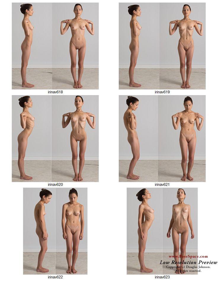 The next batch of poses or IrinaV. A study of postures designed by Samantha Youssef of Studio Technique . http://www.posespace.com/posetool/?PoseSKU=irinav618