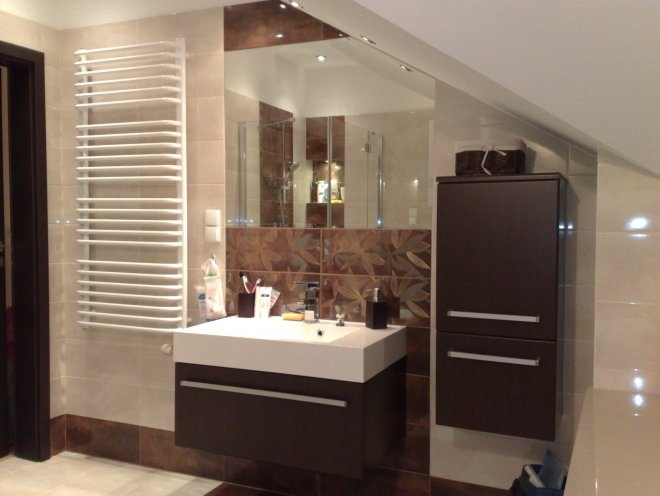 Antado's F-4 series of bathroom furniture / łazienka, meble F-4 Antado #bathroom #furniture