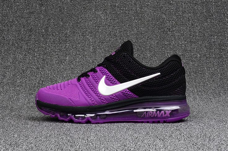 Woman's Nike Air Max 2017 KPU Shoes Shoes Purple/Black